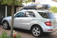 Dachbox für Mercedes ML