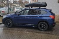 Dachbox auf BMW X1 in Lustadt