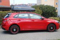 Dachbox auf Hyundai i30