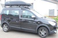 Dachbox auf Dacia Dokker