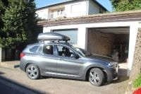 Dachbox auf BMW X1 in Hayna