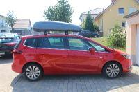 Dachbox 430 Liter auf einem Opel Zafira