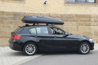 Dachbox auf 1er BMW in Schindhard