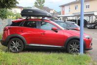 Weingarten: Dachbox 370 Liter auf einem Mazda CX3