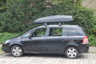 Karlsruhe: Dachbox 530 Liter auf einem Opel Zafira