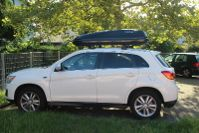 Rastatt: Dachbox 430 Liter auf einem Mitsubishi ASX
