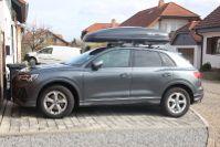 Dachbox auf einem Audi Q3 in Haßloch