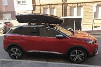 Karlsruhe: Dachbox 610 Liter auf einem Peugeot 3008 SUV