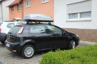 Dachbox 370 Liter für Fiat Punto