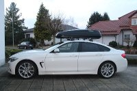 Minfeld: Skibox auf 4er BMW Grand Coupe