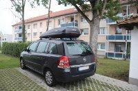 Dachbox 530 Liter für Opel Zafira