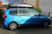 Dachbox auf Dacia Lodgy Stepway in Pirmasens