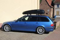 Wellesweiler: Dachbox 430 Liter auf 3er BMW Touring