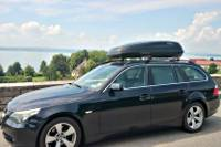 Dachbox 430 Liter auf 5er BMW Touring in Landau: