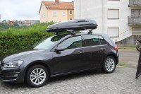 Dachbox 430 Liter Volkswagen Golf