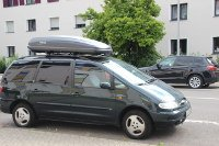 Dachbox 530 Liter auf Ford Galaxy