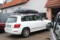 Dachbox 530 Liter auf Mercedes GLK in Landau