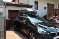 BMW Gran Tourer mit Dachbox 600 Liter in Ulmet