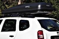Dachbox 530 Liter auf Dacia Duster