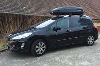 Dachbox 420 Liter auf Peugeot 307 SW Kombi