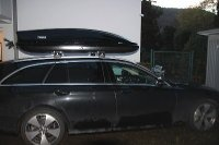 Dachbox auf Mercedes E-Klasse Touring