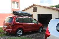 Dachbox 630 Liter für Seat Alhambra