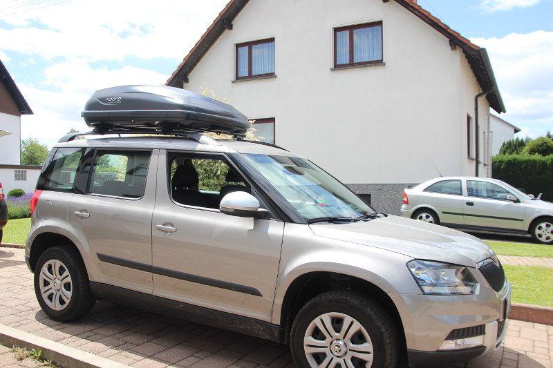 Dachbox und Dachträger für Ihren Skoda mieten