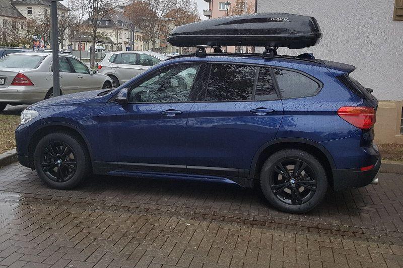 Dachbox und Dachträger für Ihren BMW SUV hier mieten