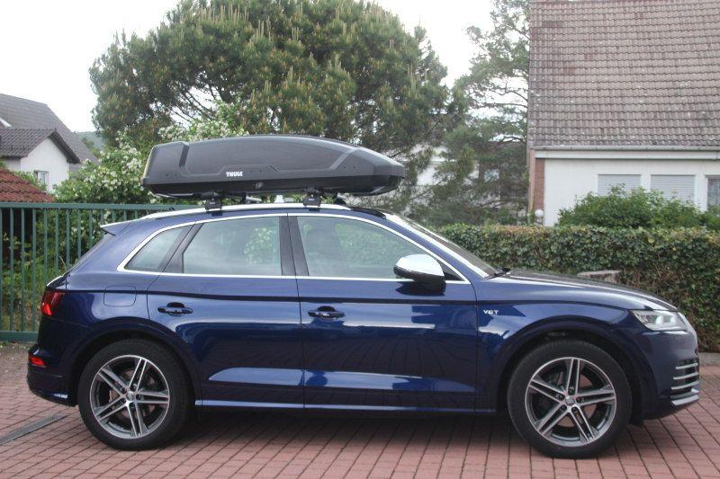 Dachbox auf einem Audi SQ5