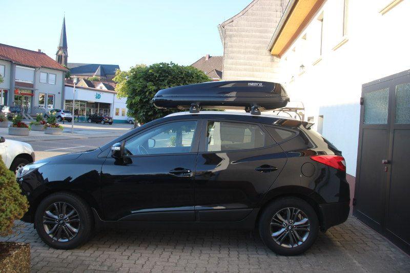 Dachbox und Dachträger für Ihren Hyundai ix35 mieten