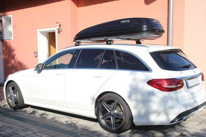 Dachbox und Dachträger für Ihren Mercedes hier mieten