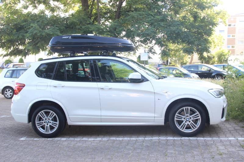 Landau / Pfalz: Dachkoffer 430 Liter auf einem BMW X3