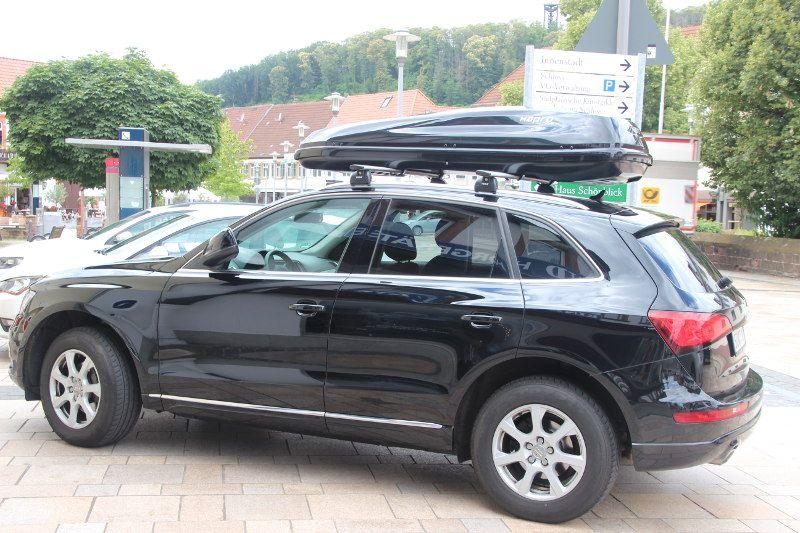 Dachbox und Dachträger für Ihren Audi hier mieten