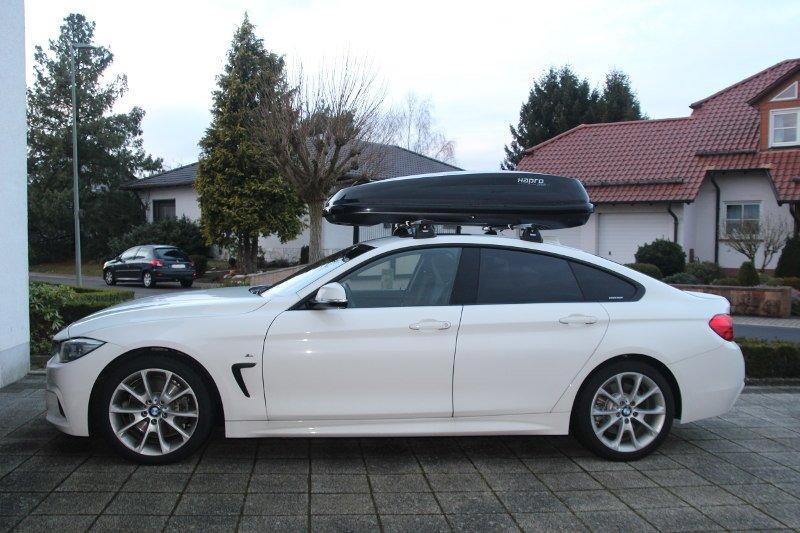 Dachbox und Dachträger für BMW mieten