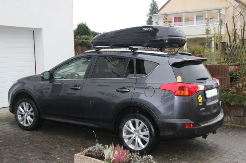 landau dachbox f r toyota rav4 bei uns g nstig mieten. Black Bedroom Furniture Sets. Home Design Ideas