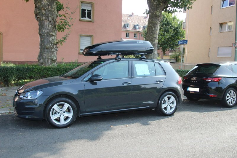 dachtr ger und dachbox f r ihren vw golf mieten. Black Bedroom Furniture Sets. Home Design Ideas