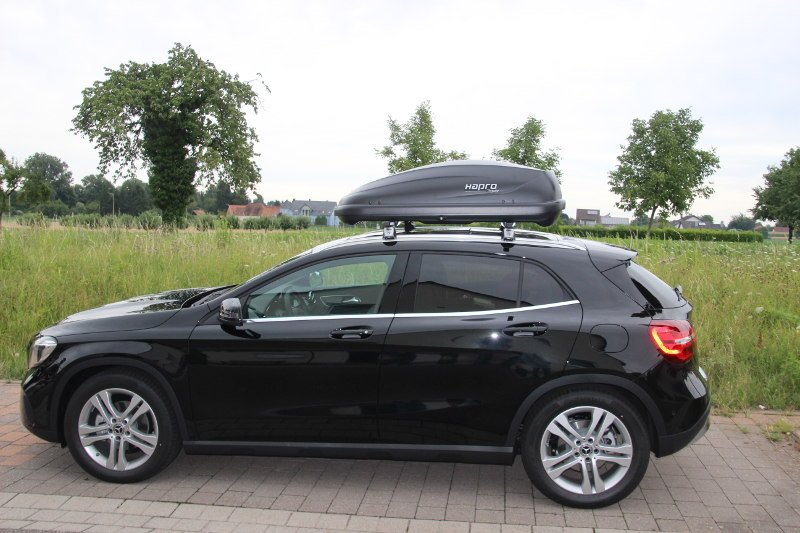 dachbox f r ihren mercedes gla in karlsruhe mieten. Black Bedroom Furniture Sets. Home Design Ideas