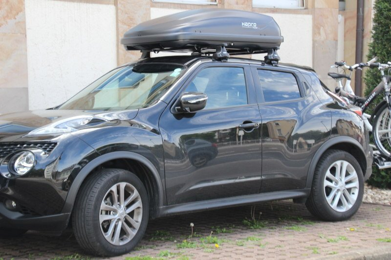 dachbox f r ihren nissan juke in saarbr cken mieten. Black Bedroom Furniture Sets. Home Design Ideas
