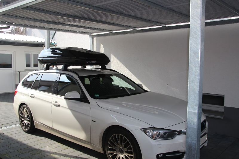 bmw 3er touring dachbox 430 liter f r ihren bmw in. Black Bedroom Furniture Sets. Home Design Ideas
