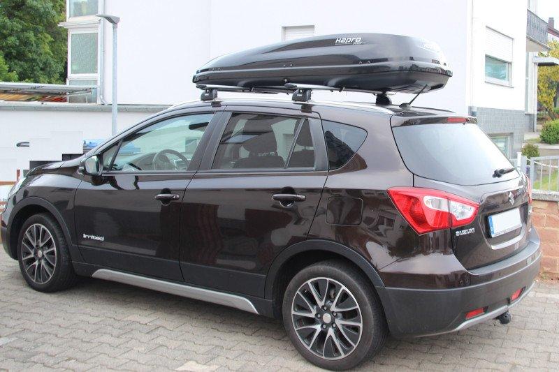 Dachbox und Dachträger für Ihren Suzuki leihen