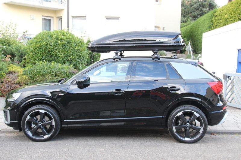 Dachbox auf einem Audi Q2