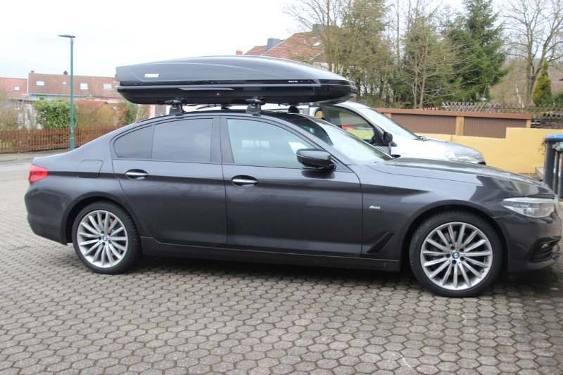 dachbox mit dachtr ger f r ihren bmw g nstig mieten. Black Bedroom Furniture Sets. Home Design Ideas