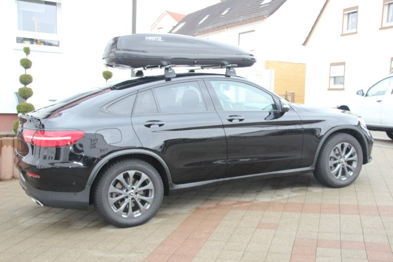 Dachbox und Dachträger für Ihren Mercedes ausleihen