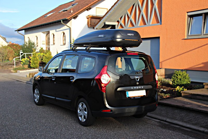 Dachbox für Dacia Lodgy Van in Landau