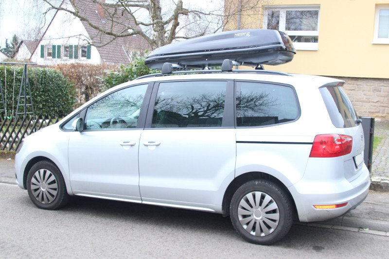 dachbox f r seat alhambra in karlsruhe mieten. Black Bedroom Furniture Sets. Home Design Ideas
